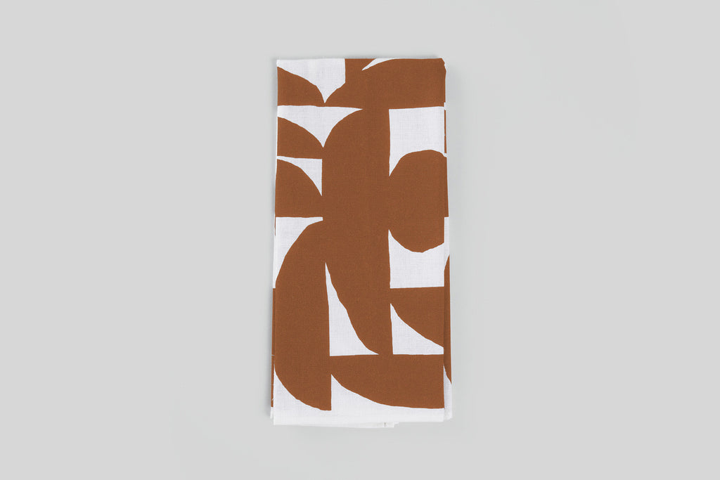 Norden Hudson Tea Towel (Rust)