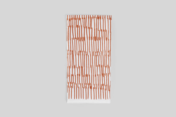 Norden Phoenicia Tea Towel (Rust)