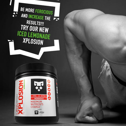 Carga de energía, carga fitness suplemento. Energy before your training and competition. XPLOSION pre workout powder designed by athletes for athletes. No Caffeine. It does not bump your heart up, raise your endurance. Tasteless. Leon sport