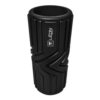 FOAM ROLLER: REDUCE MUSCLE STRESS - ACTIVATE RANGE OF MOTION - HELP PREVENT INJURY - ACCELERATE MUSCLE RECOVERY - IMPROVE BLOOD FLOW.