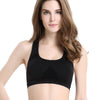 Image of VEQKING Women Breathable Sports Bra,Absorb Sweat Shockproof Padded Sleeping Athletic Gym Running Fitness Yoga Sports Tops