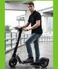 Image of 10 inch Folding Electric Bicycle for Adults Electric Scooter Foldable 500W Foldable Scooter Foldable Electric Scooter with Seat