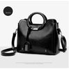 Image of MENGXILU Fashion Tassel Leather Women Handbag Lady Hobos Bag Patchwork Shoulder Bags Women Large Capacity Sac A Main 2018 New