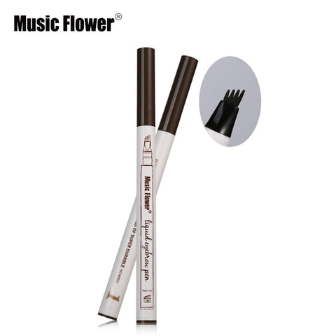 NAQIER 3 colors microblading eyebrow tattoo pen Makeup Natural Long Lasting Tattoo Eyebrow Waterproof Brown Eyebrow Pencil