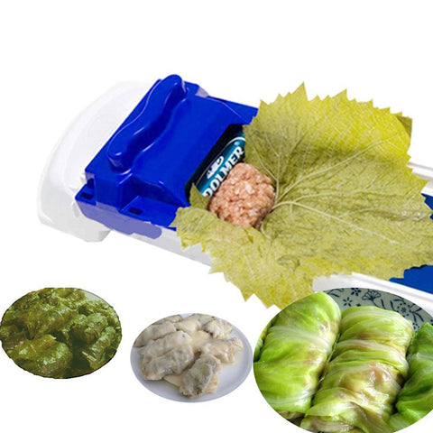 QuickDone New Vegetable Meat Rolling Tool Dolmer Magic Roller Stuffed Cabbage Leave Grape Leaf Machine Moedor De Carne AKC6017
