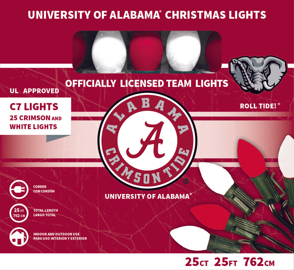 Alabama Christmas.University Of Alabama Christmas Lights