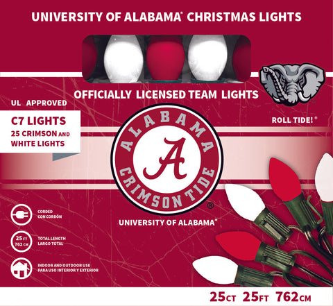 University of Alabama Christmas Lights