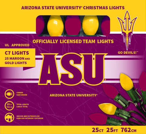 Arizona State University Christmas Lights