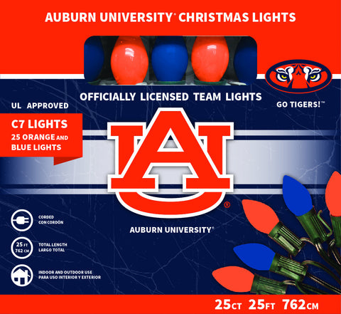 Auburn University Christmas Lights