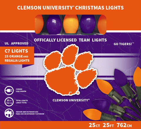 Clemson University Christmas Lights