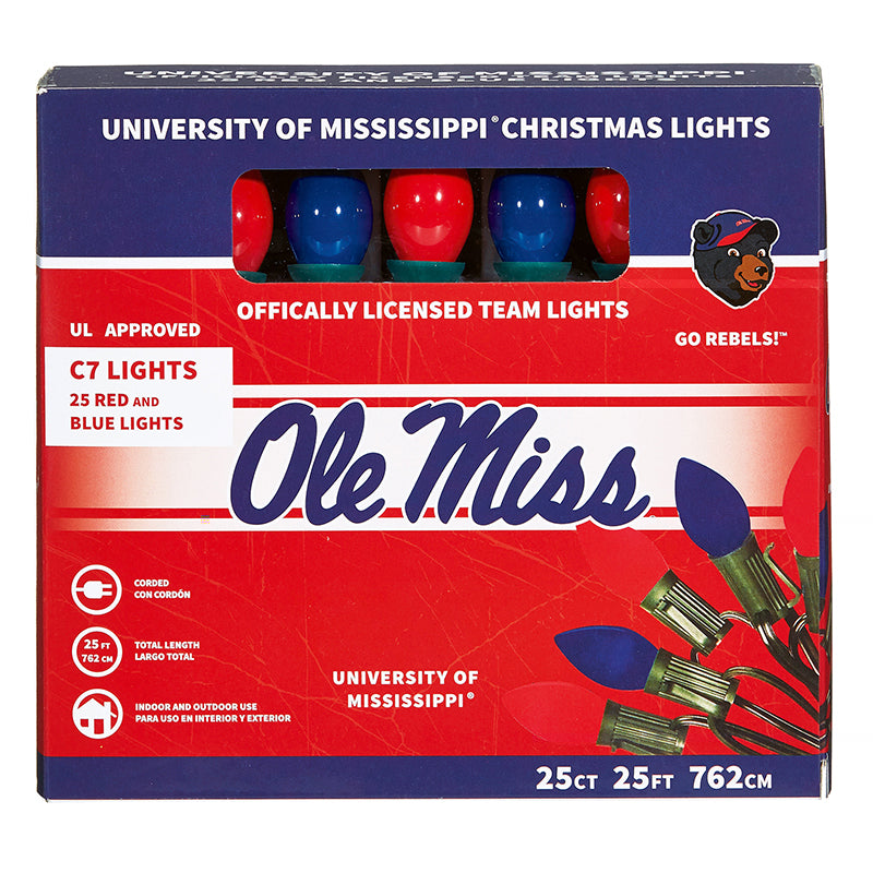 University of Mississippi Christmas Lights