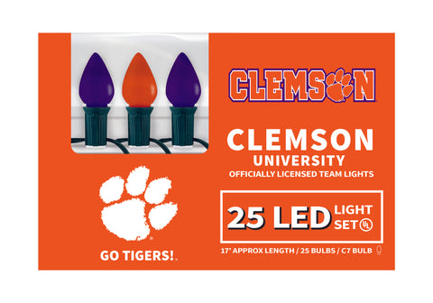 Clemson LED Lights