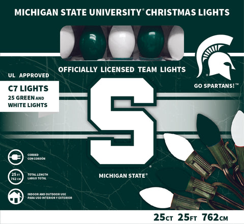 Michigan State University Christmas Lights