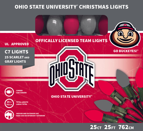 Ohio State University Christmas Lights