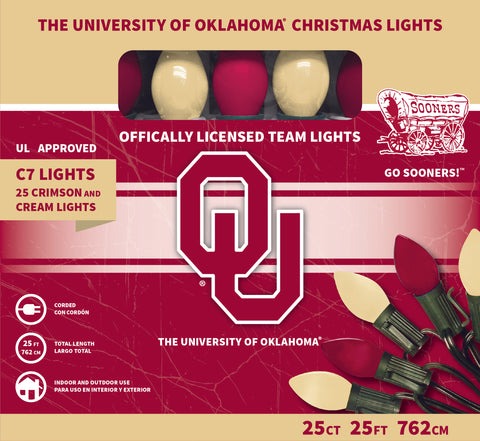 The University of Oklahoma Christmas Lights