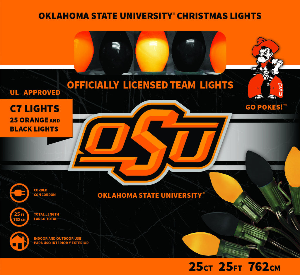 Oklahoma State Christmas Lights