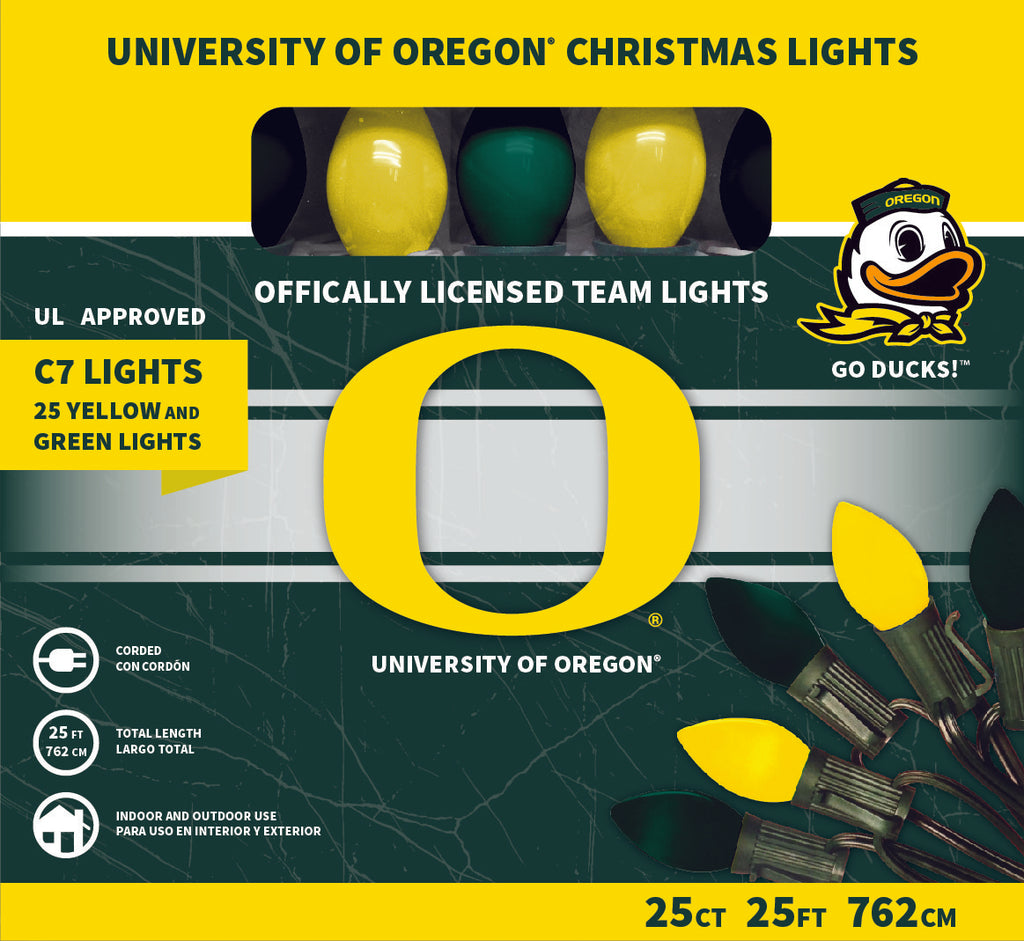 University of Oregon Christmas Lights