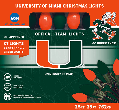 University Of Miami Christmas Lights
