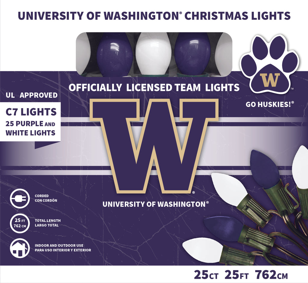 University of Washington Christmas Lights