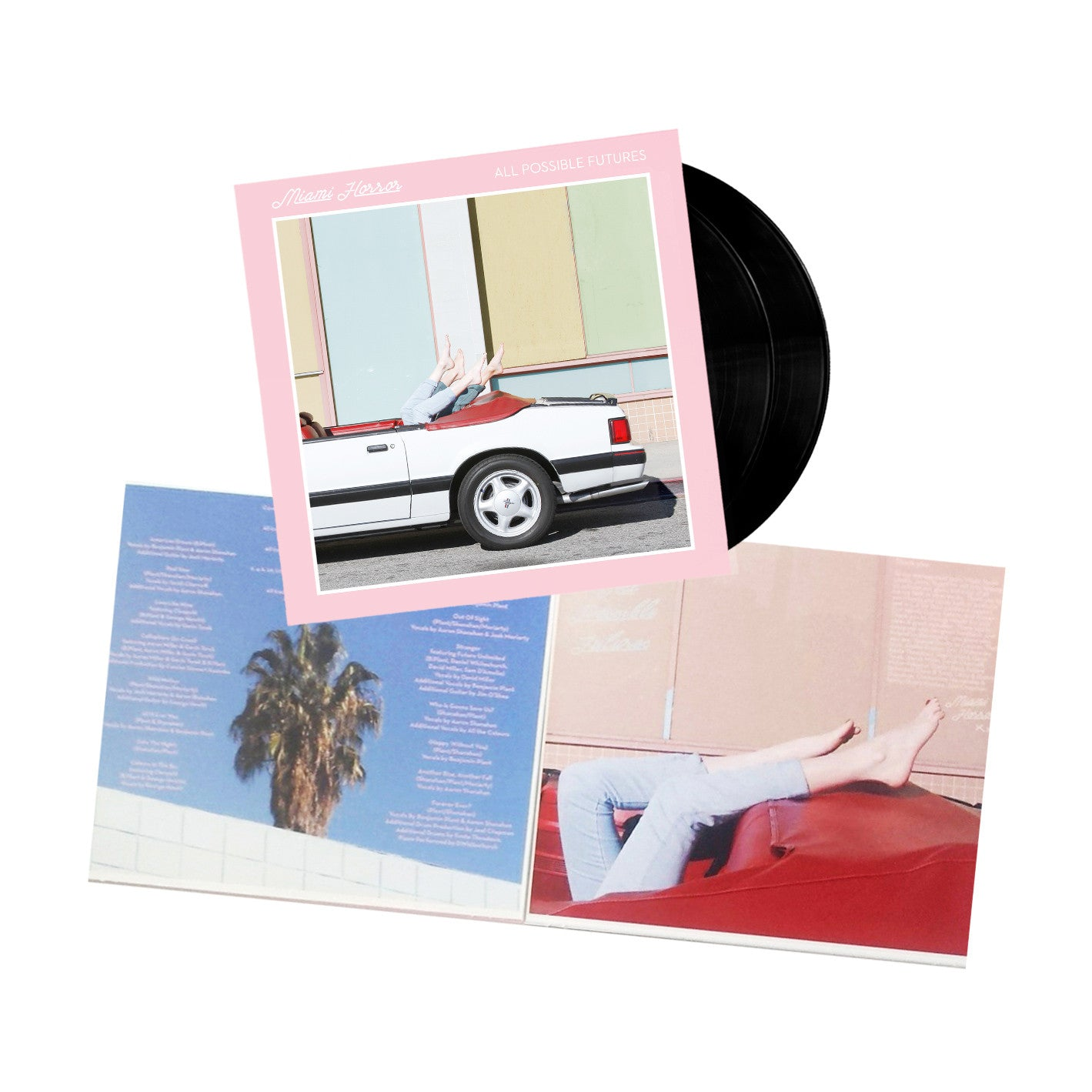 ALL POSSIBLE FUTURES - DOUBLE VINYL (RESTOCKED)
