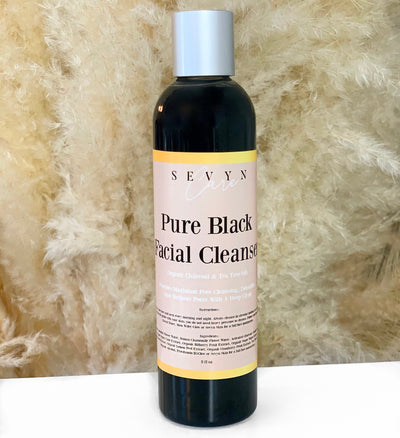 pure black facial cleaner