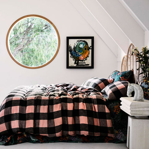 magic happens by kip and co, homewares, decor, bedding, bedroom makeover, throws, blankets, sheets, towels, kip and co