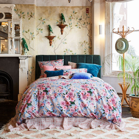 peony quilt cover by kip and co