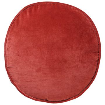 Blood Orange Velvet Pea Cushion - Kip & Co.