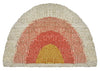 Aquarius Round Doormat- Coral/Peach/Gold