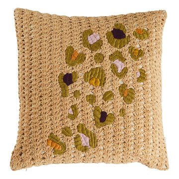Bardot Knit Cushion - Sage & Clare