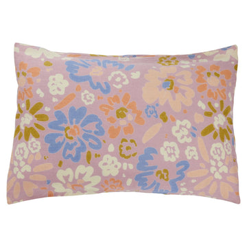 Carmen Linen Pillowcase Set - Lilac - Sage & Clare