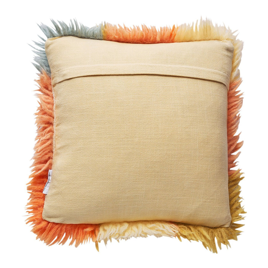 Espina Shag Cushion - Honey - Sage & Clare