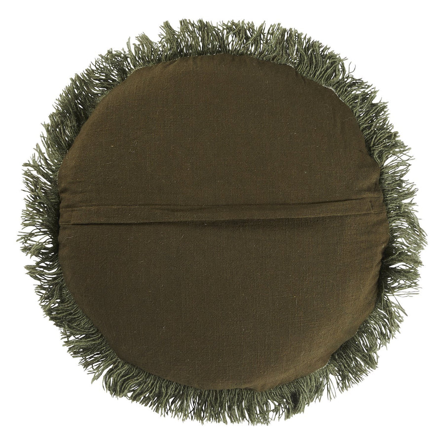 Hilaire Punch Needle Cushion - Pine - Sage & Clare