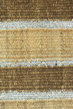 Jute Silver Striped Doormat