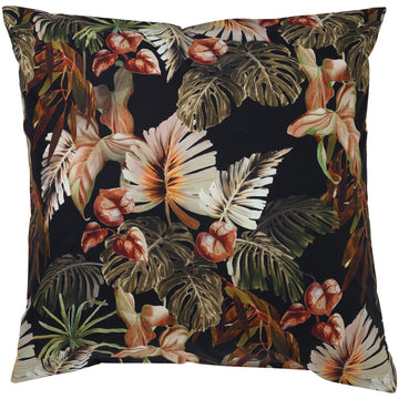 Night Jungle Cotton Euro Sham - Kip & Co.