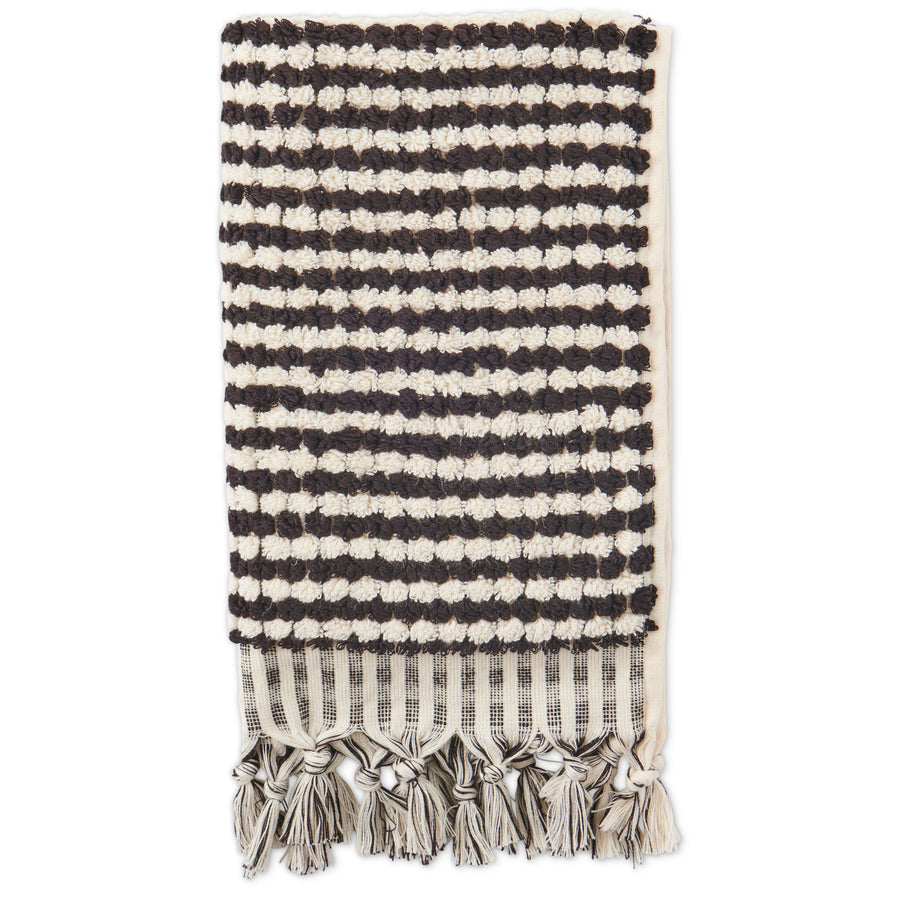 Black & White Pebbles Hand Towel - Kip & Co.
