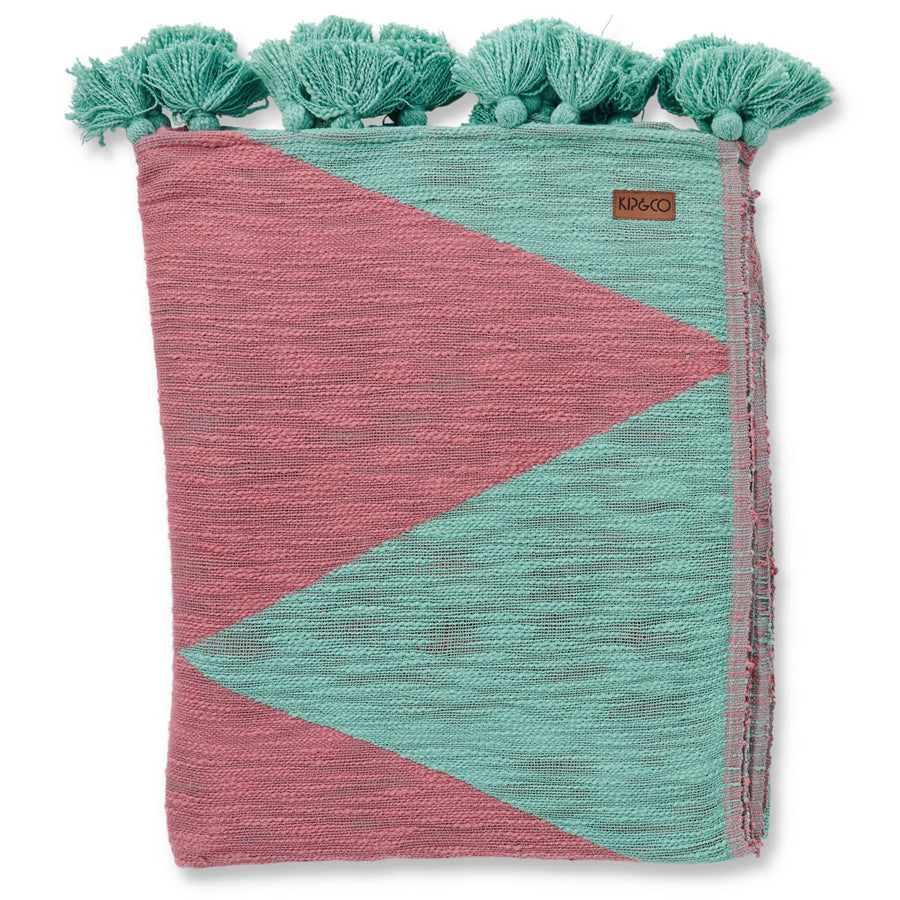 Forest Peak Tassel Throw - Kip & Co.