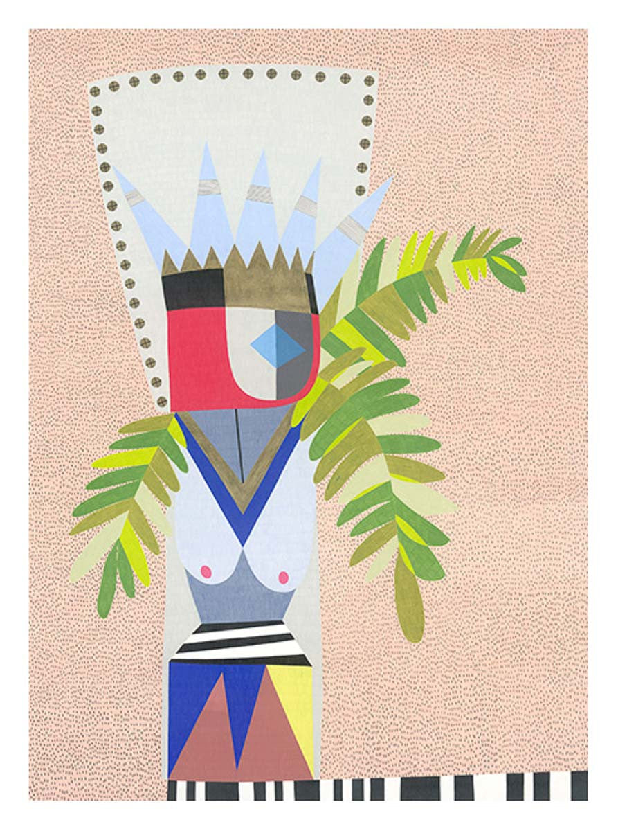 Witch Doctor - Print - Lisa Lapointe