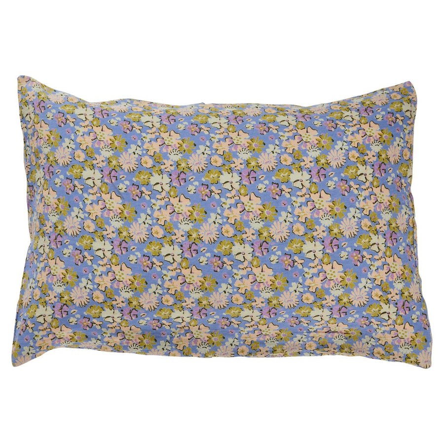 Loveat Linen Pillowcase Set - Cornflower - Sage & Clare