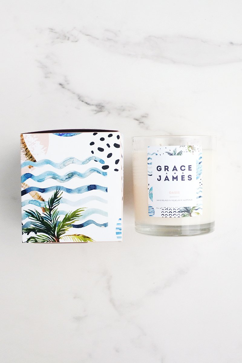 Oasis Candle - Grace & James