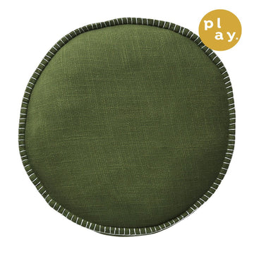 Rylie Round Cushion - Khaki - Sage & Clare Play