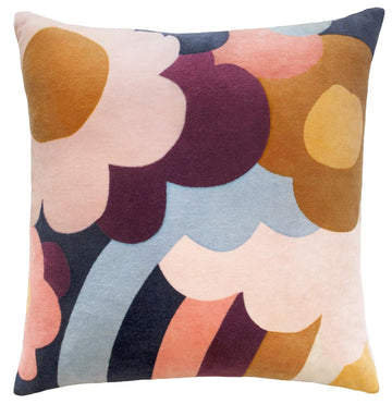 Jumbled Garden Cushion - Castle & Things