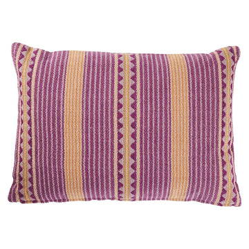 Toto Woven Cushion - Grape - Sage & Clare
