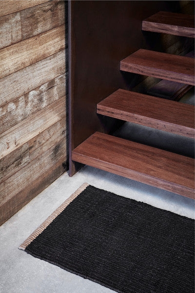 Sahara Weave Entrance Mat - Charcoal - Armadillo & Co.