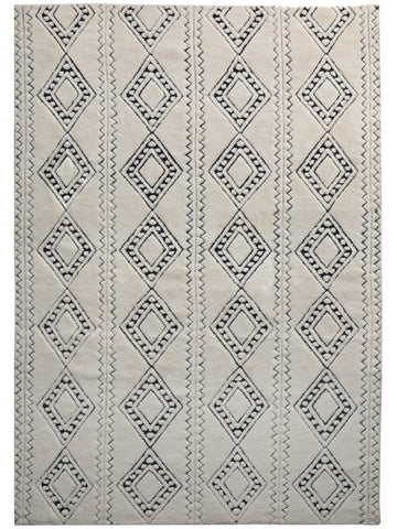 Honeycomb Rug - Cream