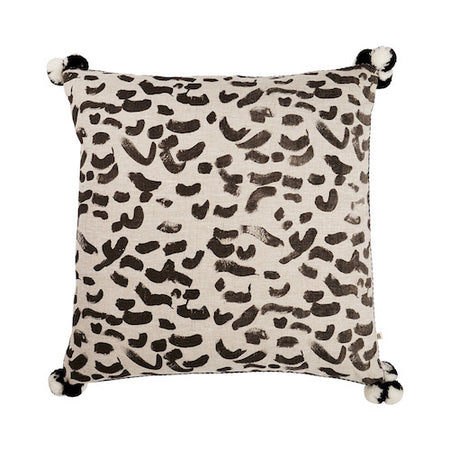 Daintree Tile Black Pillow - Bonnie & Neil