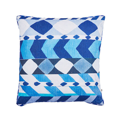 Liquorice Blue Pillow - Bonnie & Neil