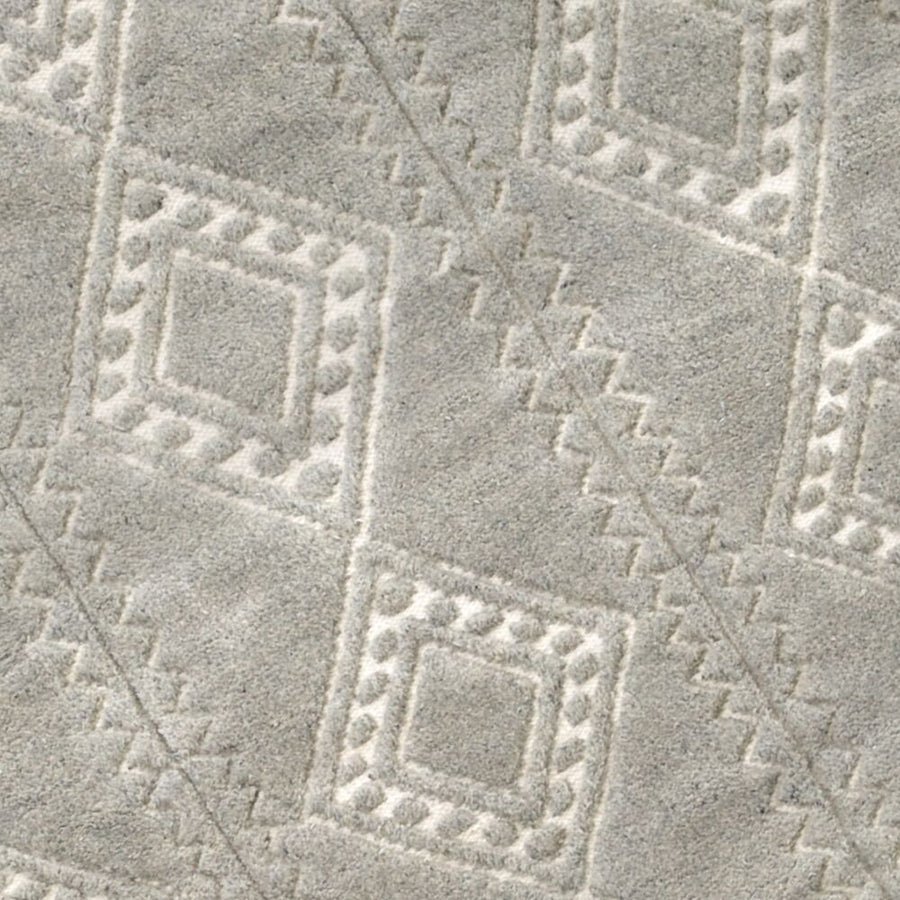 Honeycomb Rug - Pewter