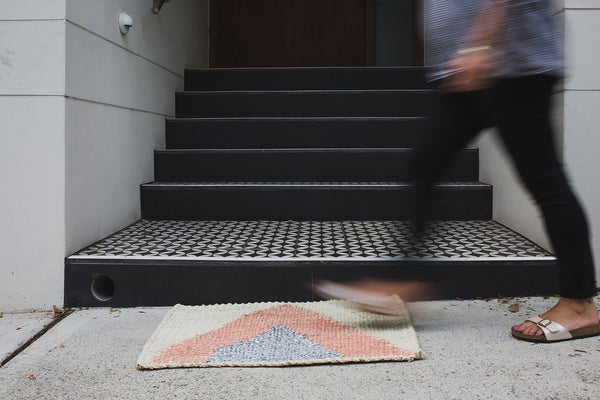Arrow Doormat - Silver