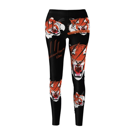 B.H.Tigers[black] Women's Cut & Sew Casual Leggings